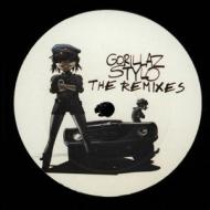 Gorillaz - Stylo (+ Remixes)(Pink Marbled)