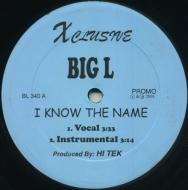 Big L - I Know The Name / Flamboyant (Rmx)