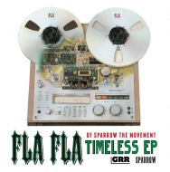Fla Fla (Sparrow The Movement) - Timeless EP (Clear Red Edition)