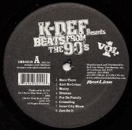 K-Def - Beats From The 90's Vol. 1