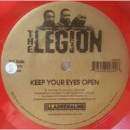 The Legion - Keep Your Eyes Open (Red Vinyl)