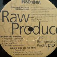 Raw Produce - The Refrigerator Poetry EP