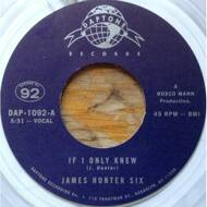 The James Hunter Six - If I Only Knew / Heartbreak (Black Vinyl)