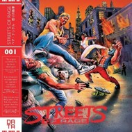 Yuzo Koshiro - Streets Of Rage (Soundtrack / O.S.T.) [Red Vinyl]