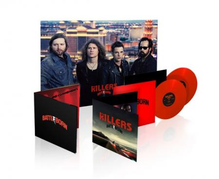 The Killers Battle Born Limited Red Vinyl 2lp