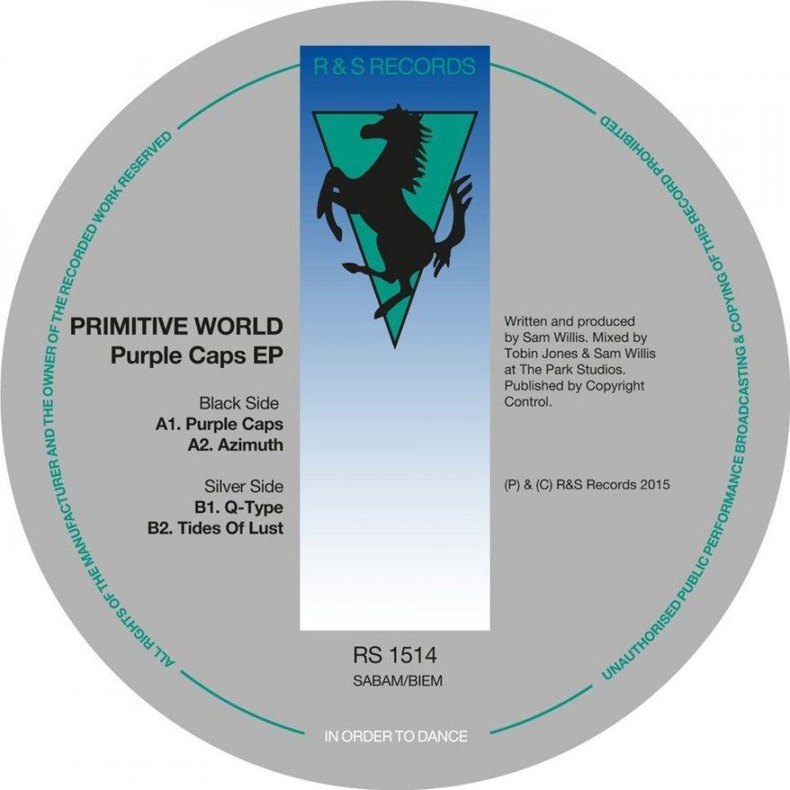 "Primitive World - Purple Caps EP Vinyl 12"" NEU 09533961"